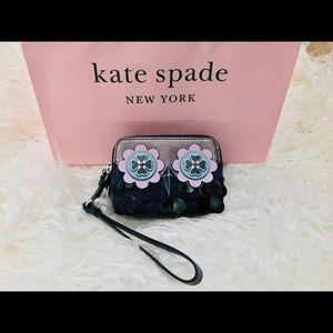 NWT Kate Spade Owl Small Camera Wristlet